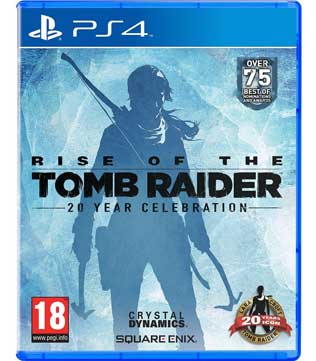 PS4-Rise of the Tomb Raider: 20 Year Celebration Edition