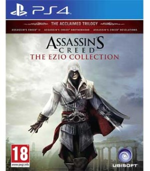 PS4-Assassins Creed The Ezio Collection