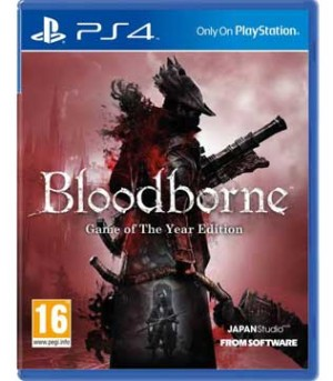 PS4-Bloodborne - Game of the Year Edition