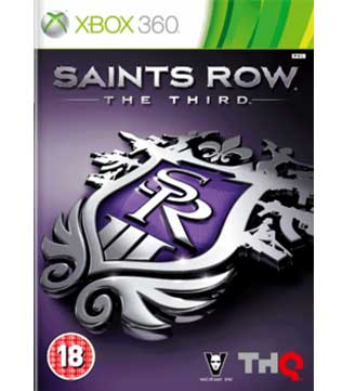 Xbox 360-Saints Row The Third