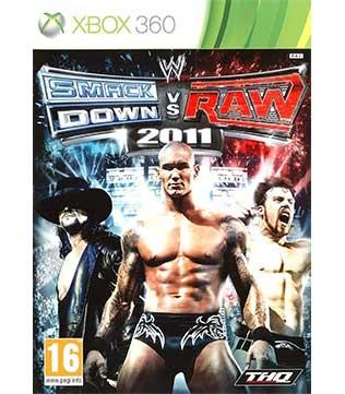 Xbox 360-Smackdown vs Raw 2011