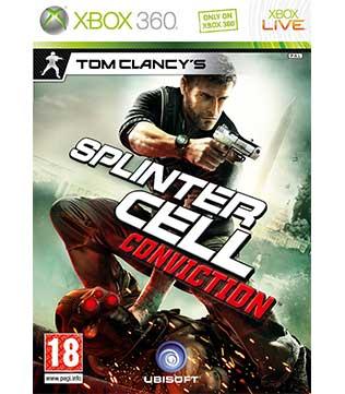 Xbox 360-Tom Clancy's Splinter Cell Conviction
