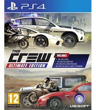 PS4-The Crew Ultimate Edition