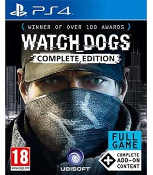 PS4-Watch Dogs Complete Edition
