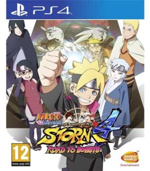PS4-Naruto Shippuden Ultimate Ninja Storm 4: Road to Boruto