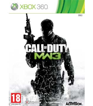 Xbox 360-Call of Duty Modern Warfare 3