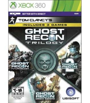 Xbox 360-Ghost Recon Trilogy