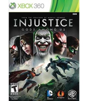 Xbox 360-Injustice Gods among us