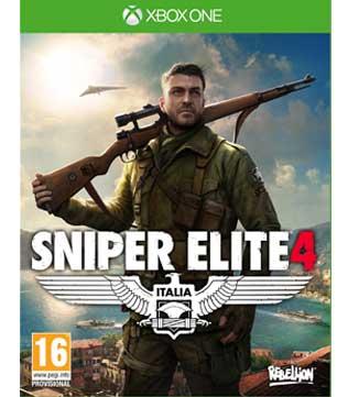 Xbox One-Sniper Elite 4