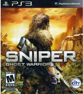 PS3-Sniper Ghost Warrior