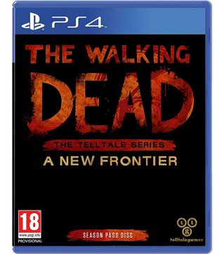 PS4-The Walking Dead The Telltale Series A New Frontier