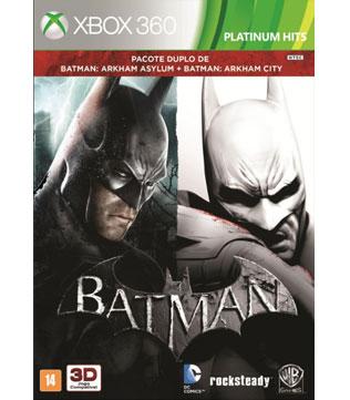 Xbox 360-Batman: Arkham Asylum & Arkham City DUAL PACK