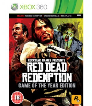 Xbox 360-Red Dead Redemption Game of the Year Edition