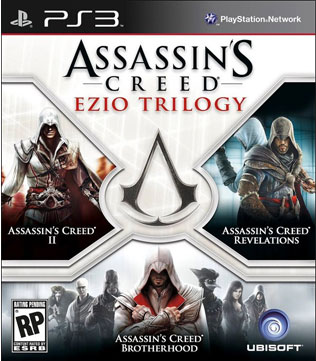 PS3-Assassins Creed Ezio Trilogy