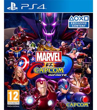 PS4-Marvel Vs Capcom Infinite