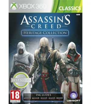 Xbox 360-Assassins Creed Heritage Collection