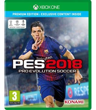 Xbox One-Pro Evolution Soccer 2018