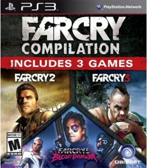 Far Cry Compilation (Far Cry 2, Far Cry 3, Far Cry 3 Blood Dragon) PS3