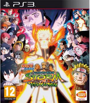 PS3-Naruto Shippuden Ultimate Ninja Storm Revolution
