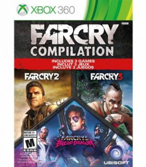 Far Cry Compilation (Far Cry 2, Far Cry 3, Far Cry 3 Blood Dragon) Xbox 360