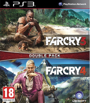PS3-Far Cry 3 & Far Cry 4 Double Pack