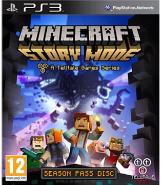 Sell Minecraft Story Mode PS3 Online in India - GameLoot