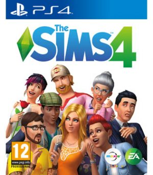PS4-The Sims 4
