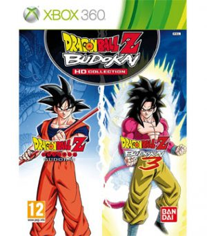 Xbox 360-Dragonball Z Budokai HD collection