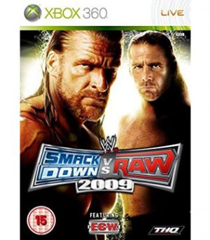 Xbox 360-Smackdown vs Raw 2009