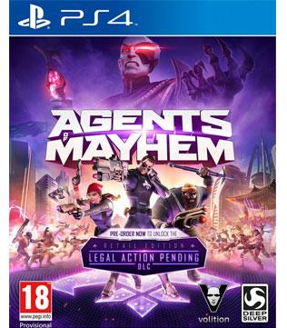 PS4-Agents Of Mayhem